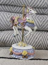 """Heritage House Country Fair Collection Carousal Horse Plays """"Swan Lake"""" - $19.99"""
