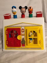 Disney Babies 1985 Activity Play Center. Baby Toddler Toy. Vtg. Interactive. - $19.24