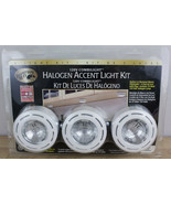 HAMPTON BAY Halogen Accent Light Kit White 120v Combilight Surface Mount - $21.99