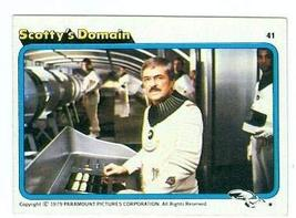 James Doohan Scotty trading card Star Trek 1979 #41 - $4.00