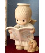 Christmas Angel Reading Good News Jesus The Savior Is Born  PM 520357  - $19.99
