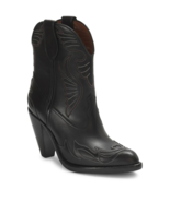 Givenchy Stitched Leather Western Booties Size 37 MSRP: $1,395 - $890.99