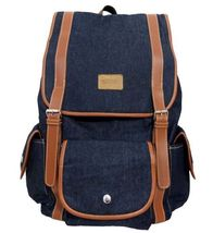 BROGAN Bags Joey Blue Denim Backpack (Free Dust Bag) - $48.05