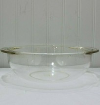 Vintage Pyrex Clear Mixing Bowl 2 Quart 1 liter Microwave And Baking #24 - $10.86