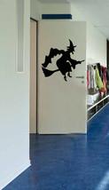 Halloween Witch Bruja Wall Window Glass Door Decal Big Vinyl Sticker Decor  - $18.66