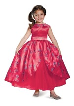 Child's Girls Deluxe Disney Princess Elena Of Avalor Ball Gown Dress Cos... - $16.82