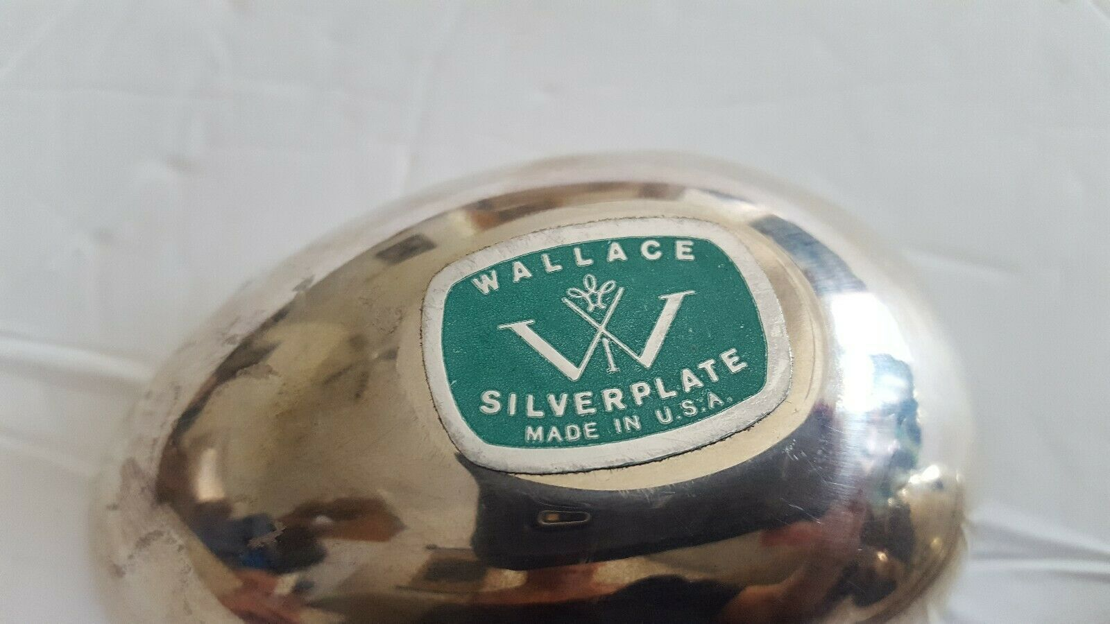 Vintage Wallace Annual Silver Plate Tulip Egg Box 1978 USA