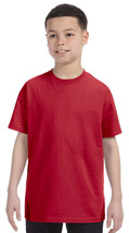 Jerzees Youth Heavyweight T-Shirt - 29B - Red - ₹228.43 INR