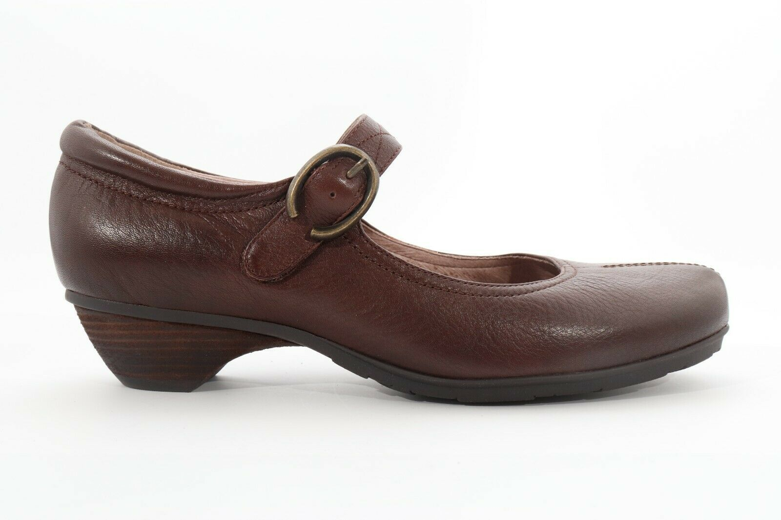 Abeo Nadine Mary Jane Pumps Brown Size 8 Neutral Footbed ( EPB )4360 - $80.00