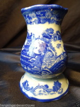 Beautiful Vintage Flo Blue Pottery Sugar Shaker Victopia Ironstone Table... - $96.51