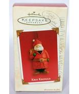 Hallmark Keepsake Christmas Ornament Kris Kringle 2003 - $12.75