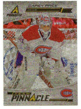 2011-12 Carey Price - Pekka Rinne (Back) Panini Pinnacle Team Pinnacle -... - $1.19
