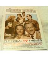 Sheet Music Nov 1985 Mag Great TV Themes Newhart Fantasy Island Dick Van... - $12.38