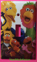 Sesame Street Big Bird Friends Light Switch Power Outlet Cover Plate Home decor