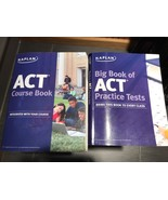 Kaplan ACT Course Book And Big book Of ACT Practice Tests - $9.89