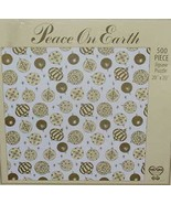 Peace on Earth 500 Piece Jigsaw Puzzle - $25.00