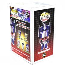 Funko Pop! Retro Toys Transformers Optimus Prime #22 Vinyl Action Figure image 4