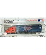 DETROIT TIGERS MLB BASEBALL 1:80 DIECAST TRUCK TRACTOR TRAILER TOY VEHIC... - $12.70