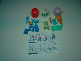 Kinder - K03 56-57 Robots - complete set + 2 papers + 2 stickers - Surprise eggs - $2.50