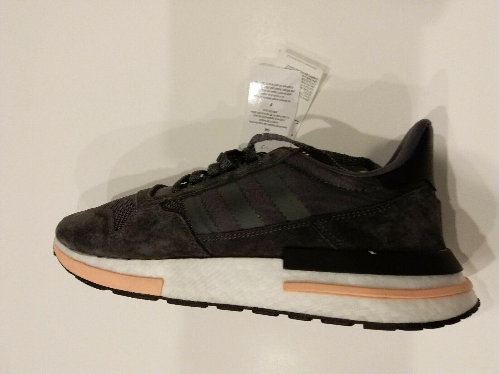 promo code 482cf bf30f Adidas ZX 500 RM Men New Grey White Orange and 50 similar items