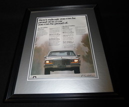 1981 Cadillac V6 11x14 Framed ORIGINAL Vintage Advertisement - $32.36