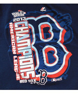 Youth T Shirt MLB Baseball Boston Red Sox 2013 World Series Champions Si... - $7.99