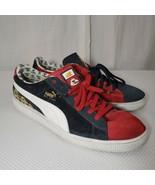 Puma Yo MTV Raps 14 MC Shan The Bridge Red Blue Sneakers 2007 - $222.71