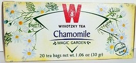 Wissotzky Chamomile Herbal Tea  KP - 20 Tea bags - $8.75
