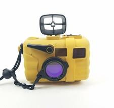 Untested SeaLife ReefMaster Underwater Waterproof Case Yellow For 35mm C... - $15.39