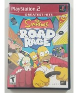 The Simpsons Road Rage PS2 Greatest Hits Game 2001 EA Playstation 2 - $14.95