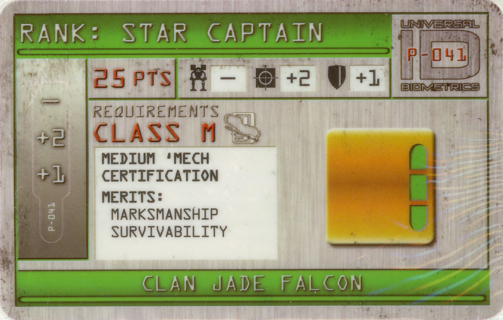 MechWarrior F-023 Clan Nova Cat Domination