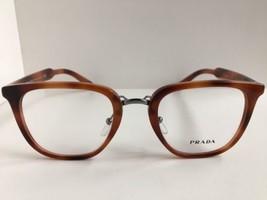 New PRADA VPR 1T0 ESU-1O1 49mm Round Tortoise Eyeglasses Frame No case #8 - $189.99