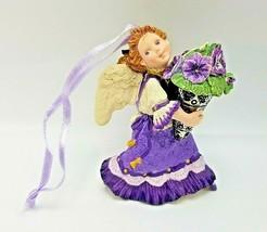 1996 Hallmark Pansy Angel Keepsake Ornament The Language of Flowers 1st ... - $8.09