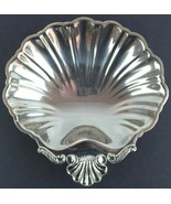 Vintage Silver Plate Shell Shaped Bowl Candy Dish Made in Japan - $16.80