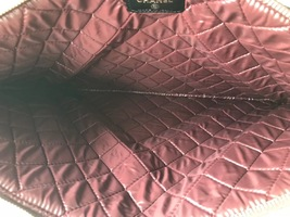 AUTHENTIC CHANEL Black Quilted Lambskin Large Clutch Bag GHW image 6