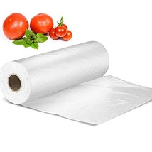 "12"" X 16"" Plastic Produce Bag on a Roll, Bread and Grocery Clear Bag, 35... - $21.15"
