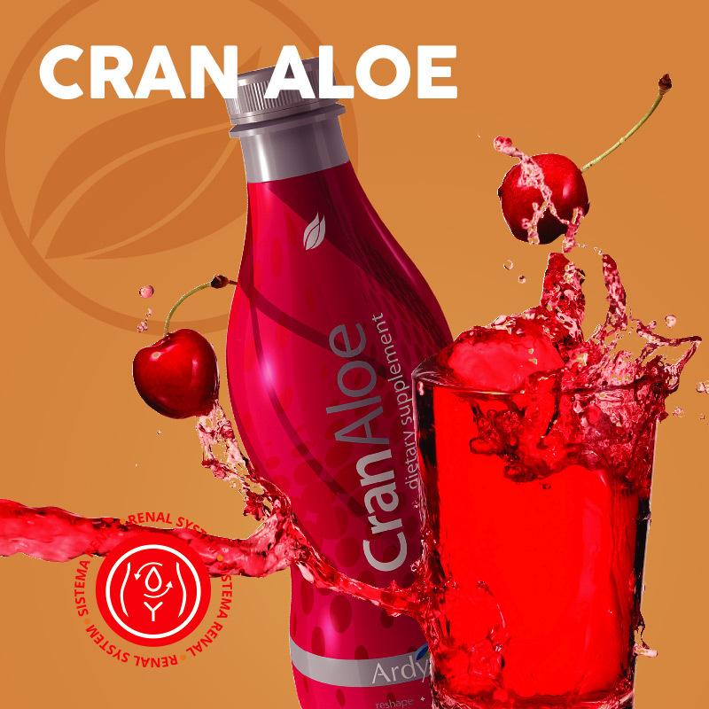 Cran Aloe (Cranberry, Aloe Vera) Health Drink - $37.99