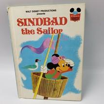 Disney's Wonderful World Of Reading Sindbad The Sailor Mickey Mouse Sinb... - $8.91