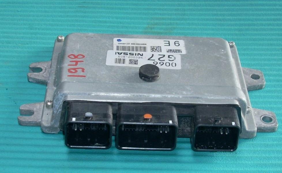 2015 NISSAN VERSA ENGINE COMPUTER BEM332-300A24804D