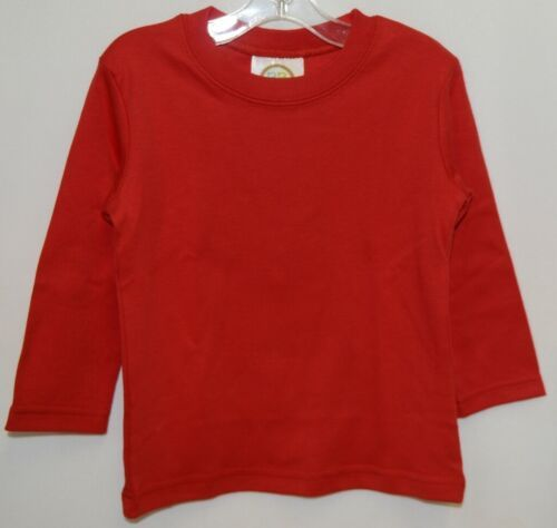 Blanks Boutique Boys Long Sleeve Red Tee Shirt 18 Months