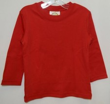 Blanks Boutique Boys Long Sleeve Red Tee Shirt 18 Months image 1