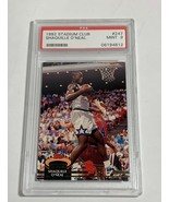 1992 PSA MINT 9 #247  STADIUM CLUB SHAQUILLE O'NEAL(MR) ROOKIE CARD RC - $197.99