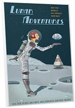 "Pingo World 0205Q6H99GM ""Steve Thomas Lunar Adventures"" Gallery Wrapped Canvas A - $57.37"