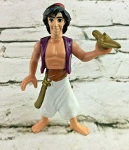 Disney Aladdin Figure Cake Topper Collectible Street Rat Magic Lamp - $6.92