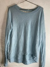 STEM ANTHROPOLOGIE Baby Blue Sweater Size Large - $23.36