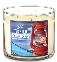 Bath & Body Works Toasted S'Mores Three Wick 14.5 Ounces Scented Candle - $22.49