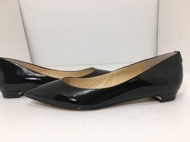 Ivanka Trump Tizzy Women's Flats Pointed Toe Pumps Black Patent Size US 9 M - $59.37