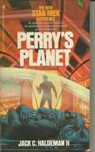 Star Trek Perry's Planet ORIGINAL Vintage 1980 Paperback Book Jack Halde... - $19.79