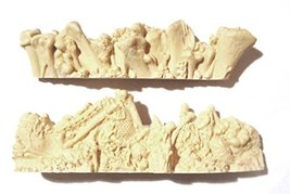 28mm scale Terrain Bonewalls (2)