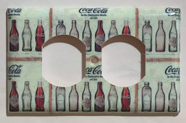 Coke Coca Cola Old bottles Light Switch Power Outlet Wall Cover Plate Home decor image 4